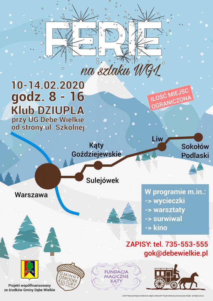 Ferie Feriada 2020 plakat